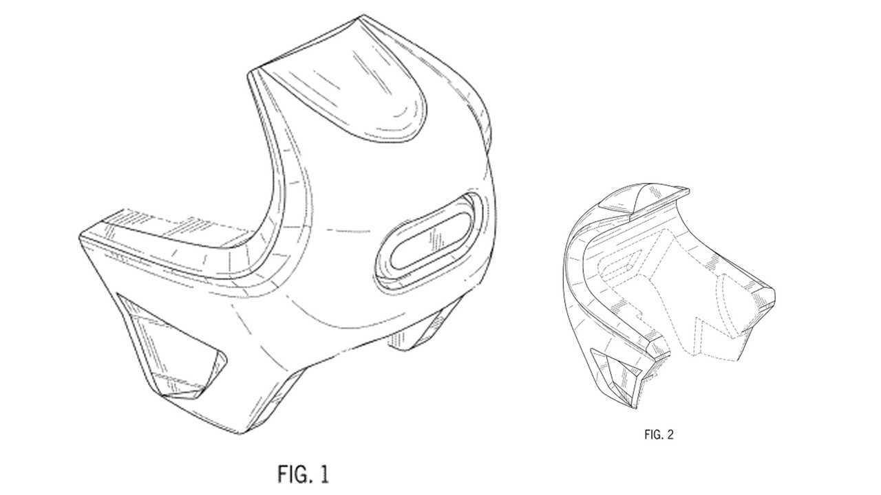 Harley-Davidson Bubble Fairing Patent