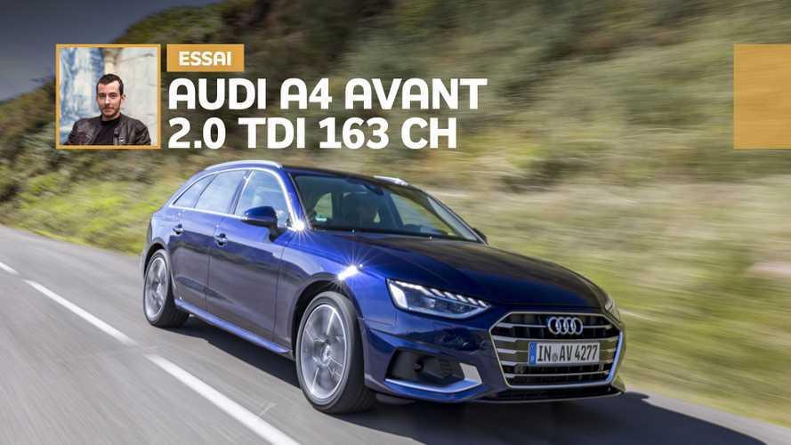 Essai Audi A4 Avant 2.0 TDI 163 ch