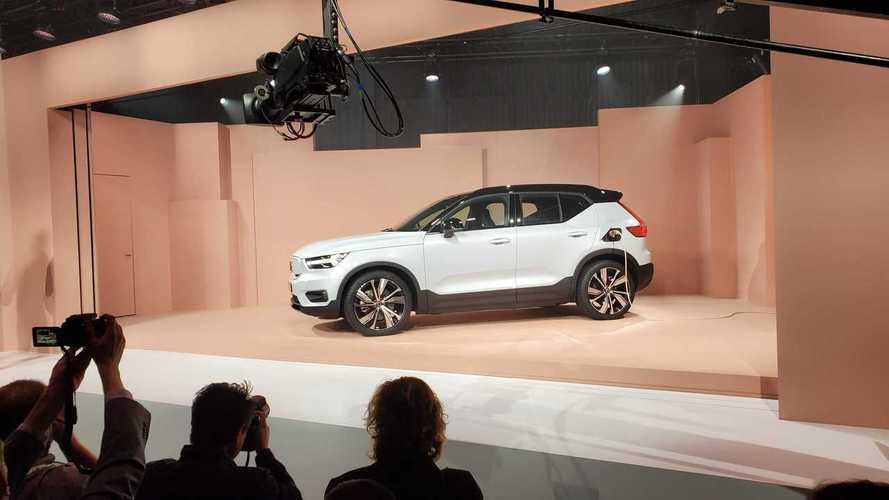 Hatalmas az érdeklődés az elektromos Volvo XC40 Recharge iránt