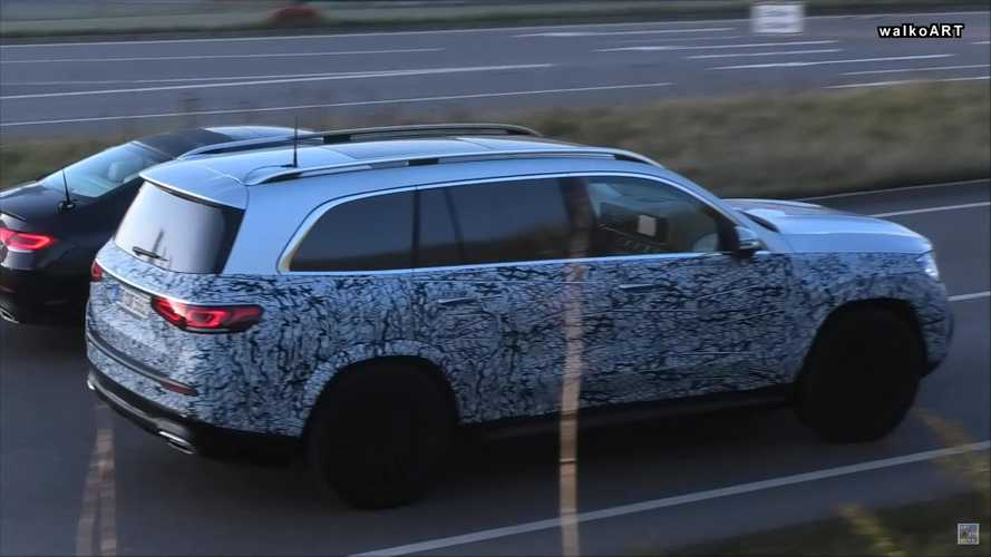 Mercedes-Maybach GLS Spy Screenshots