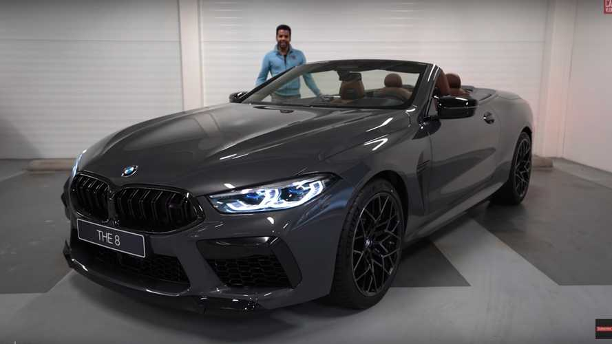 Este BMW M8 Competition convertible cuesta $282,600