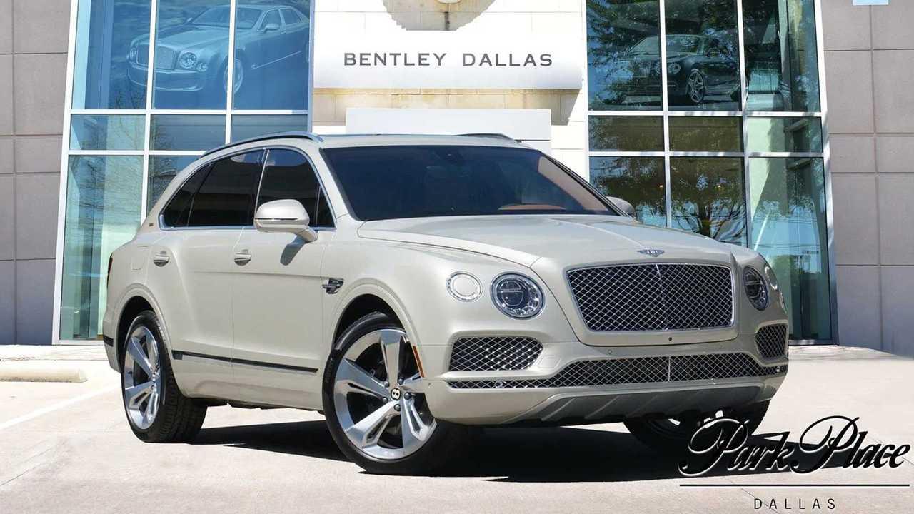 Bentley Bentayga V8 Stetson Special Edition