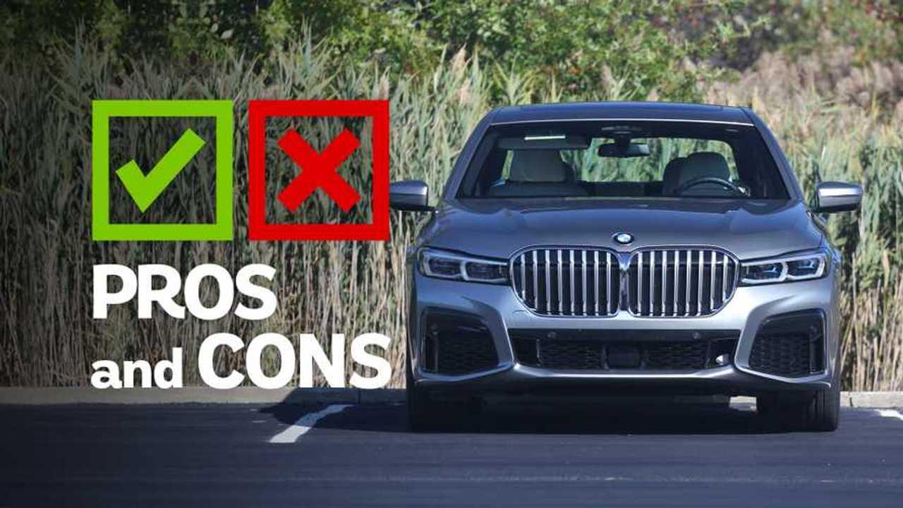 2020 BMW 745e Pros And Cons