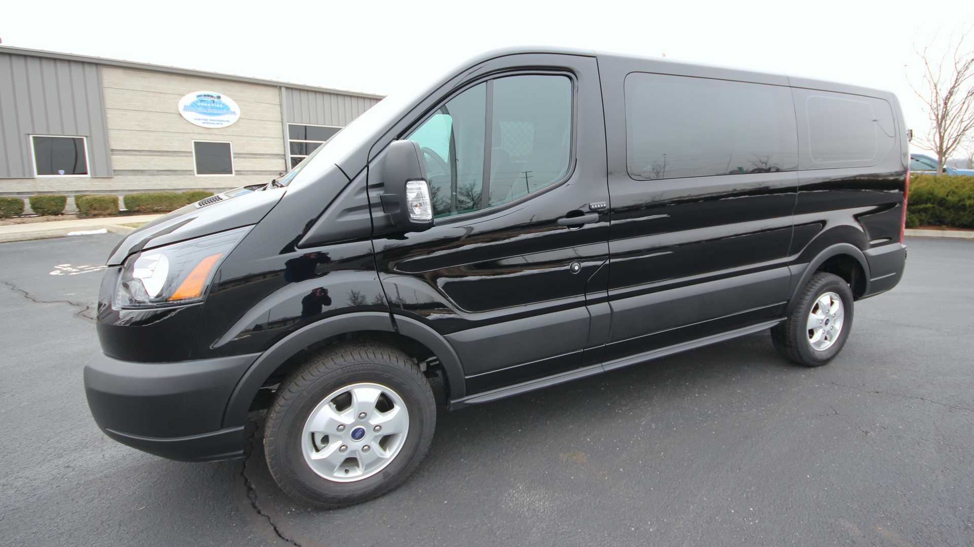 Ford Transit Rv >> This Black Ford Transit Cargo Van Could Be The Death Of You
