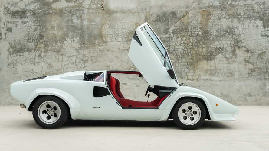 Super Rare 1985 Lamborghini Countach Downdraft Goes Up For Auction January 2020