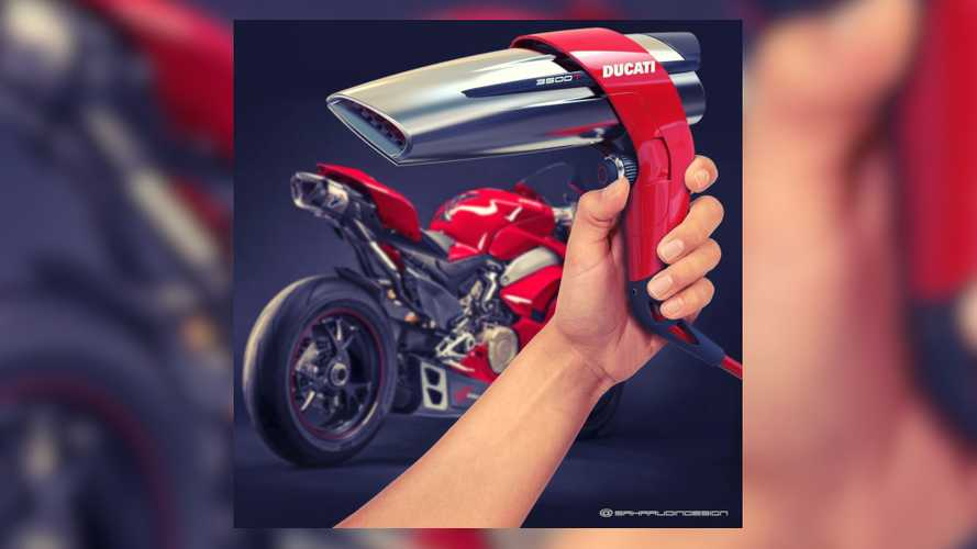 Would A Ducati Hairdryer Blow You Away?