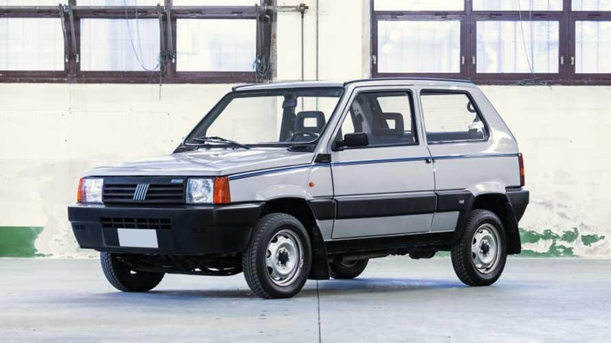 All'asta la Fiat Panda 4x4 di Gianni Agnelli