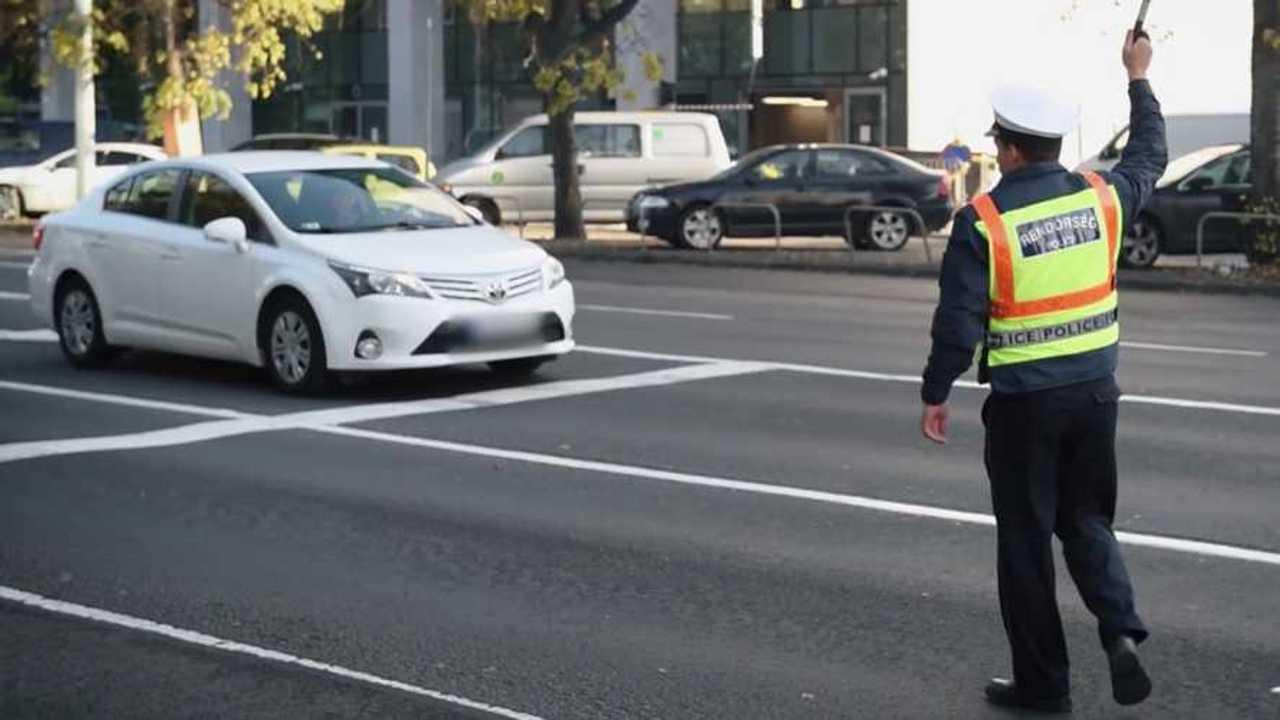 Rendőrség, közlekedésbiztonsági akció