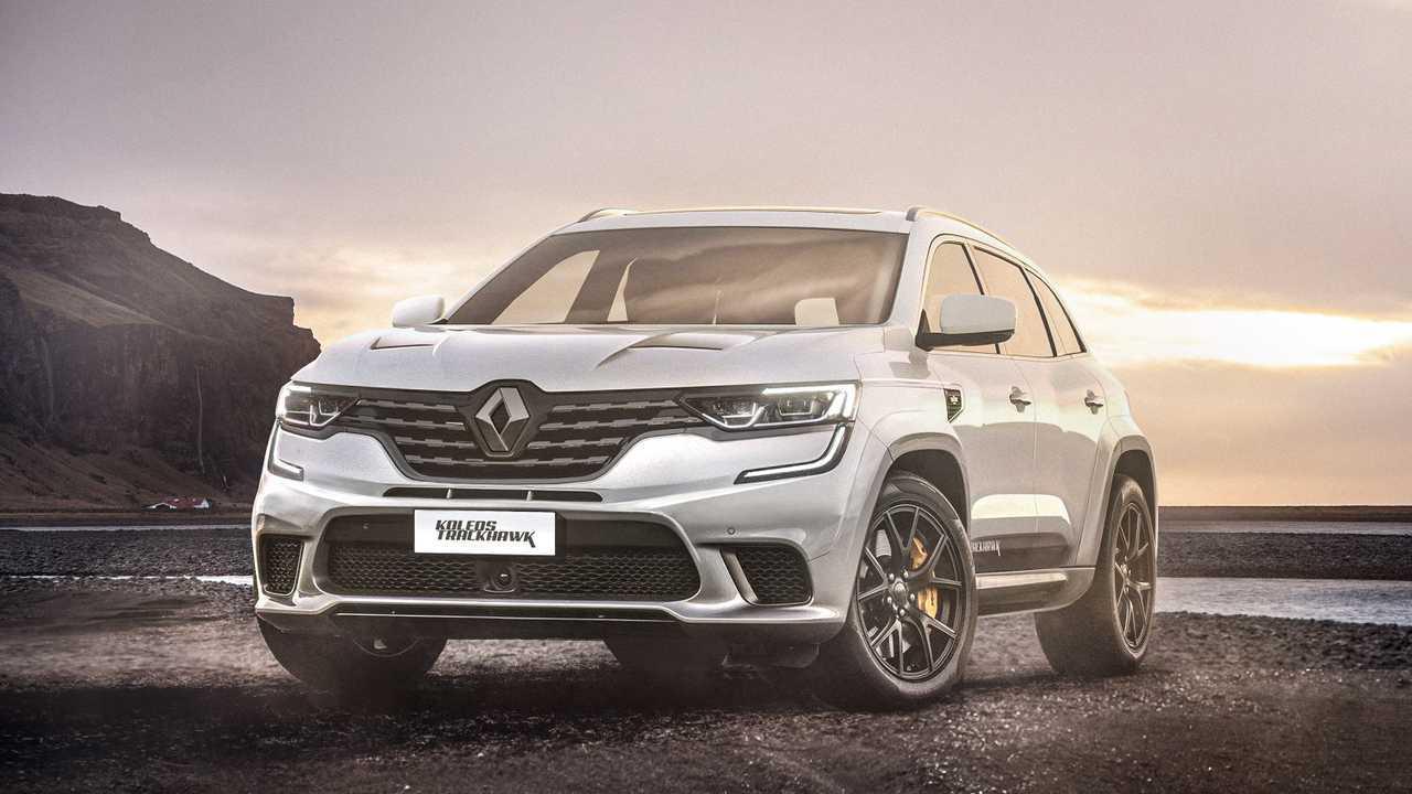 Renault Koleos Trackhawk rendering