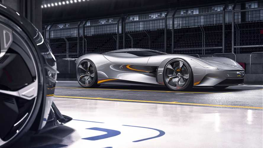 Jaguar Vision Gran Turismo Is A Slinky, All-Electric Virtual Racer
