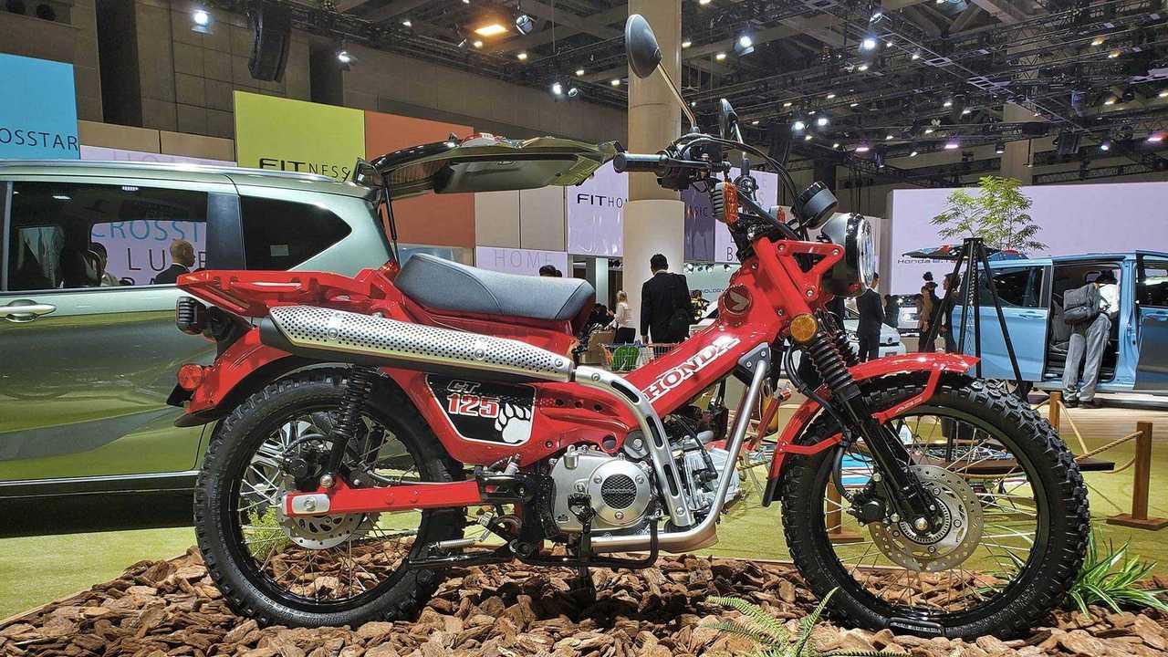 Honda CT125 Concept Tokyo Domenick