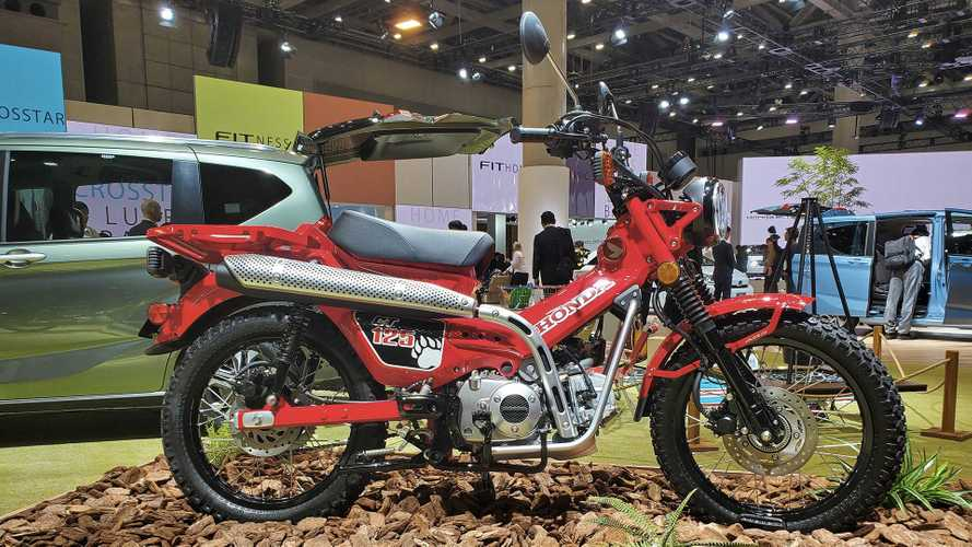 Honda's New CT125 Concept Shows Its Face In Tokyo