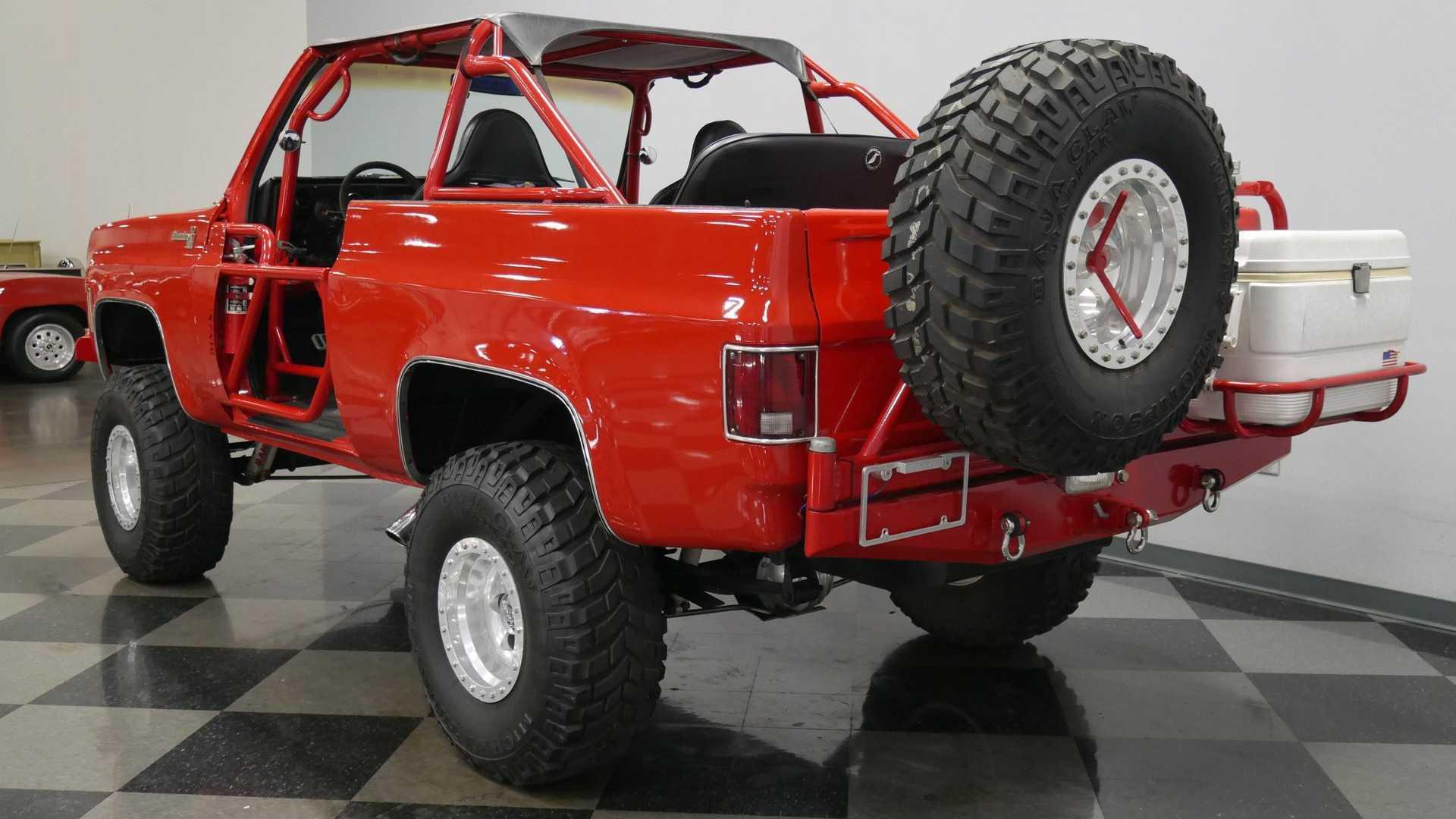 "[""Tackle Baja In This Built 1973 Chevrolet K5 Blazer""]"