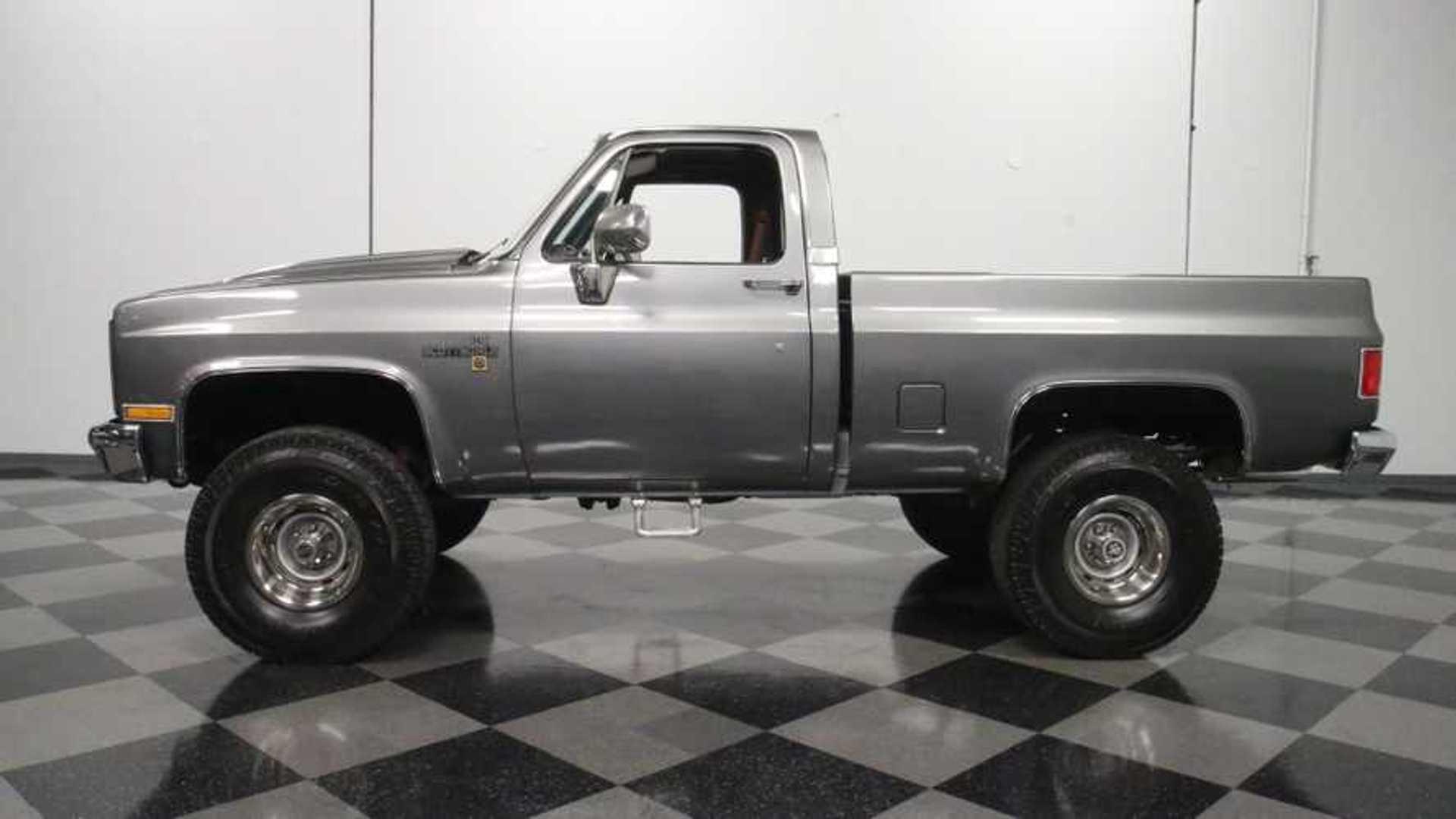 "[""Lightly Modded 1981 Chevrolet K-10 Is Riding High""]"