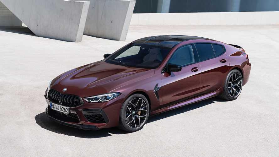 BMW M8 Gran Coupé, in quattro a 305 km/h