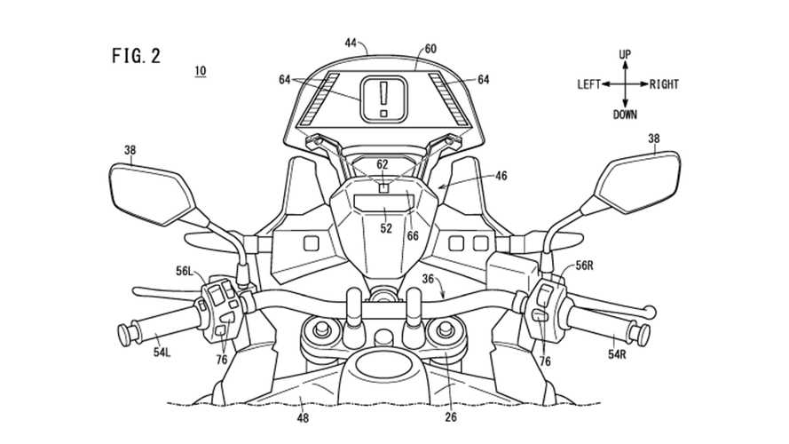 Honda Is Working On A Motorcycle Tactile Head-Up Display