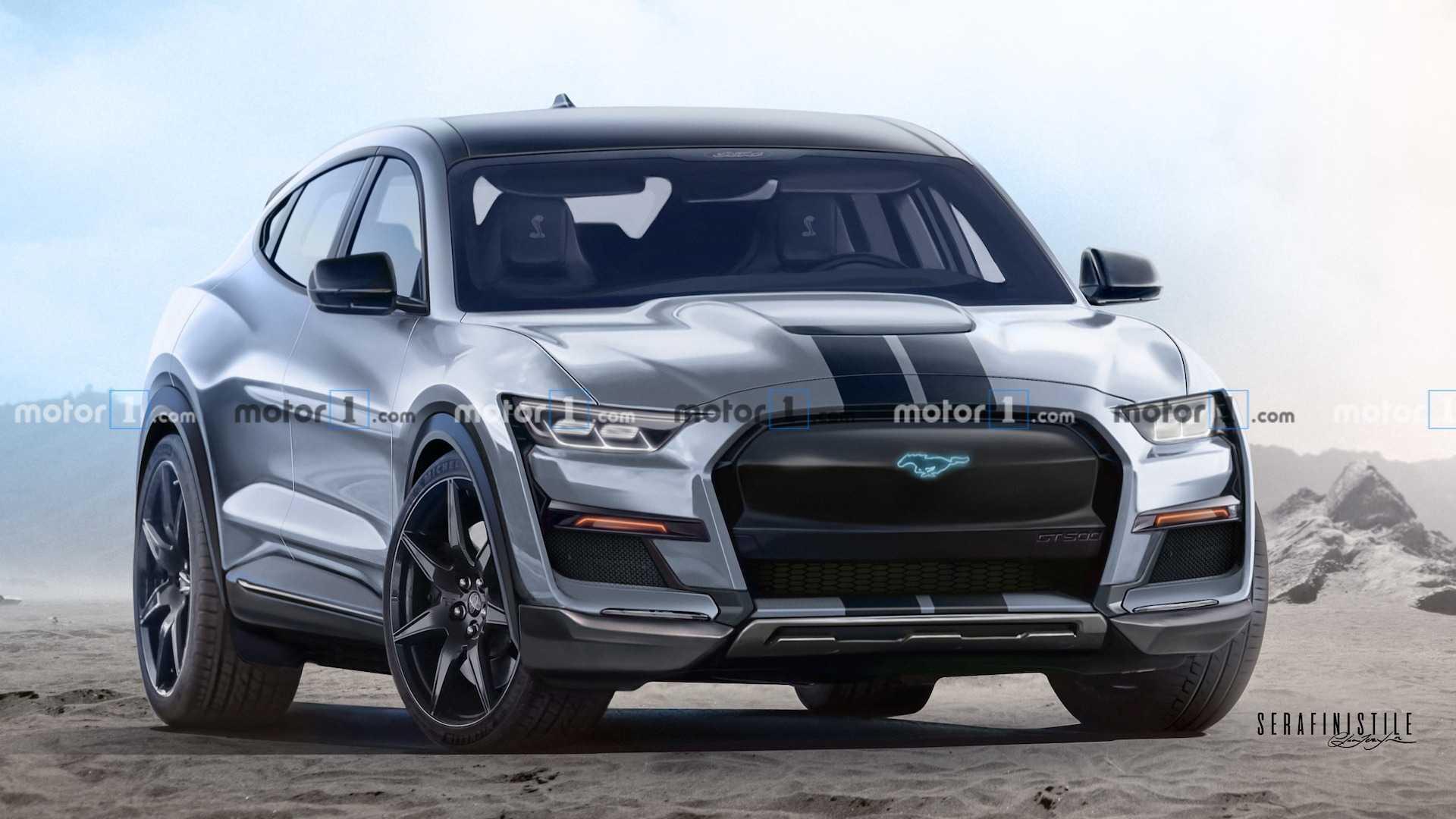 Ford Mustang Mach E Shelb E Renderings Predict The Inevitable