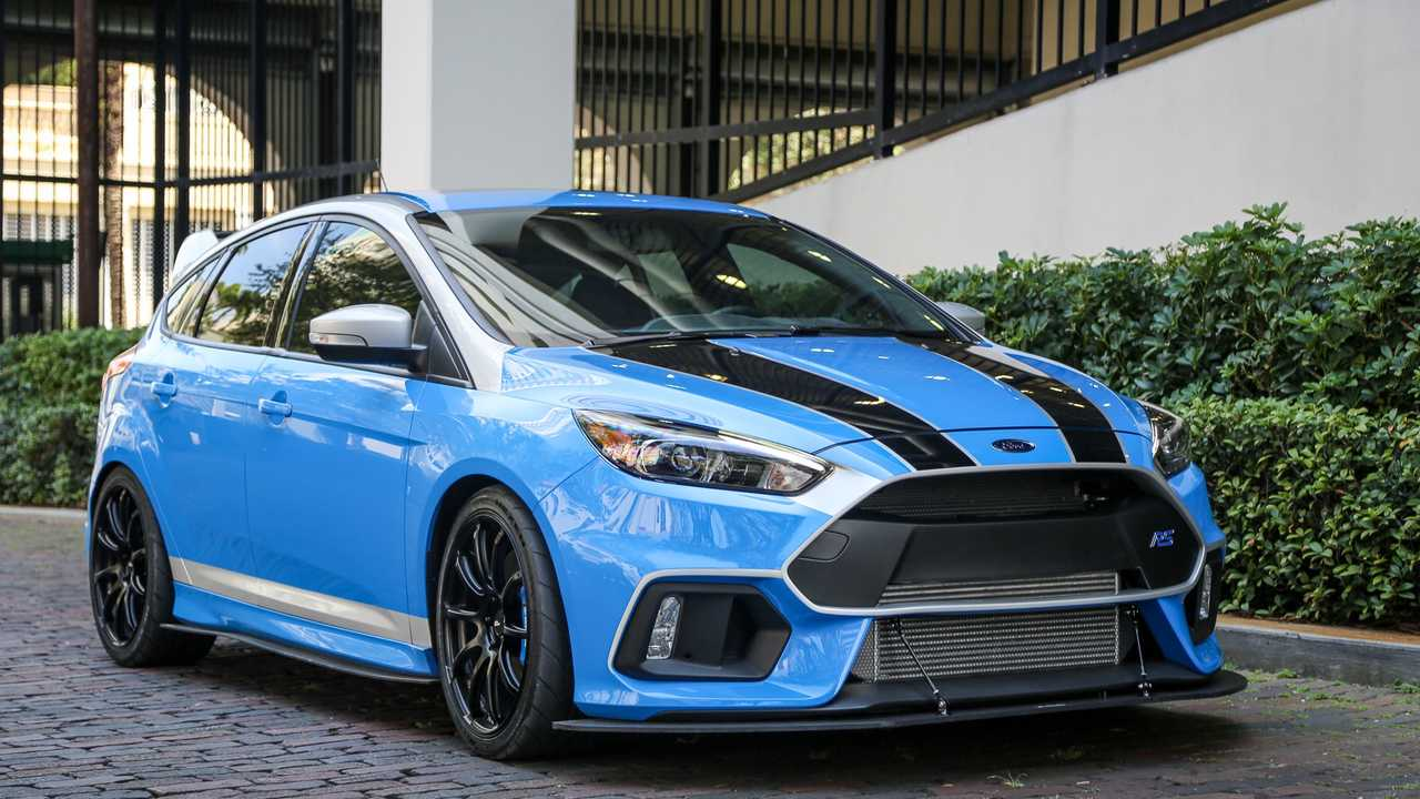 Custom 2017 Ford Focus RS Dream Giveaway
