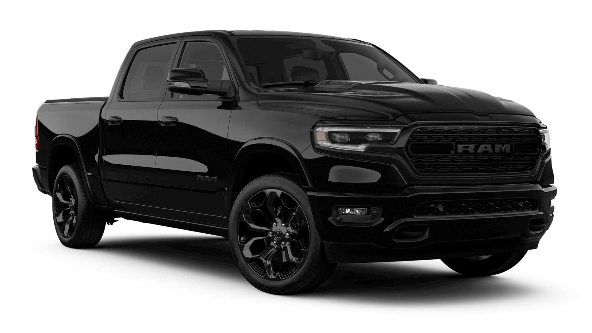 Ram Goes Dark With 1500 Black Edition Heavy Duty Night
