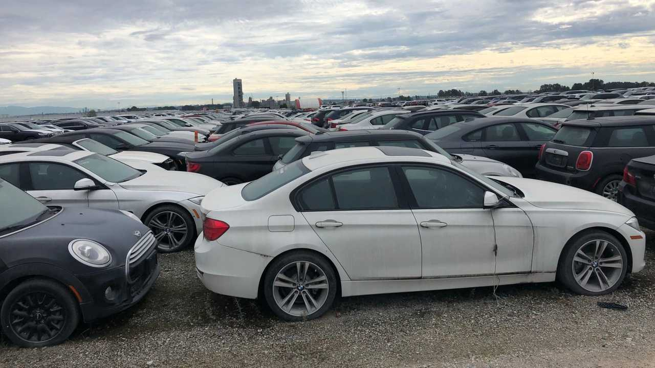 Elhagyatott BMW-k
