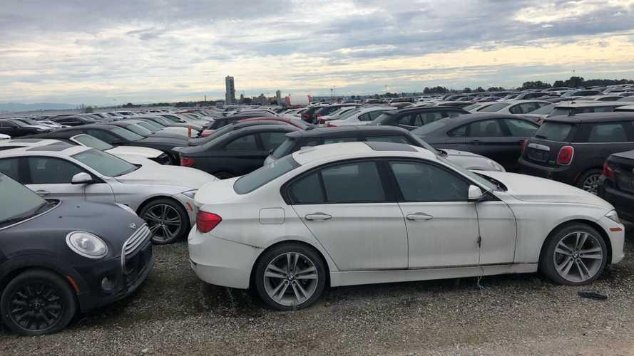 Közel 3000 BMW és Mini áll négy éve egy kanadai roncstelepen