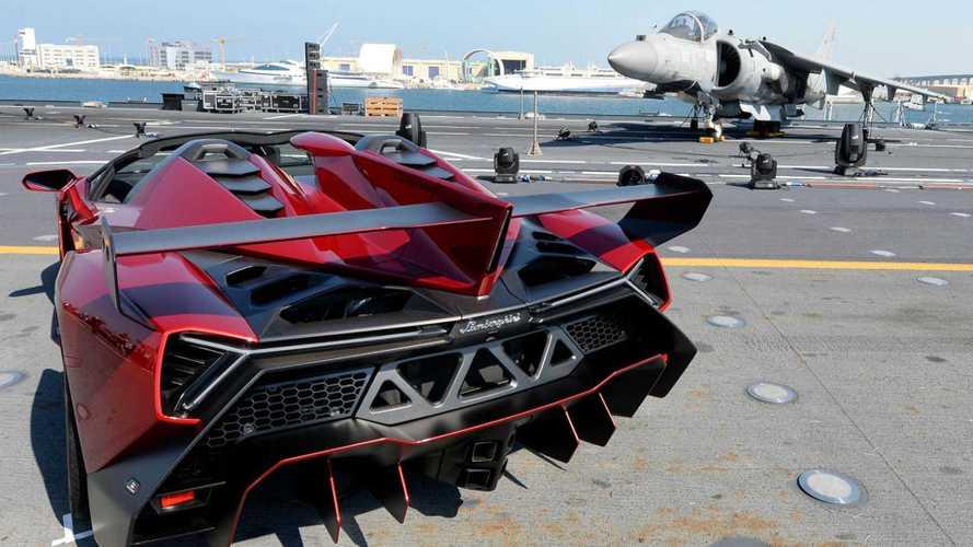 Kilövés: az űrben tesztelhet a Lamborghini