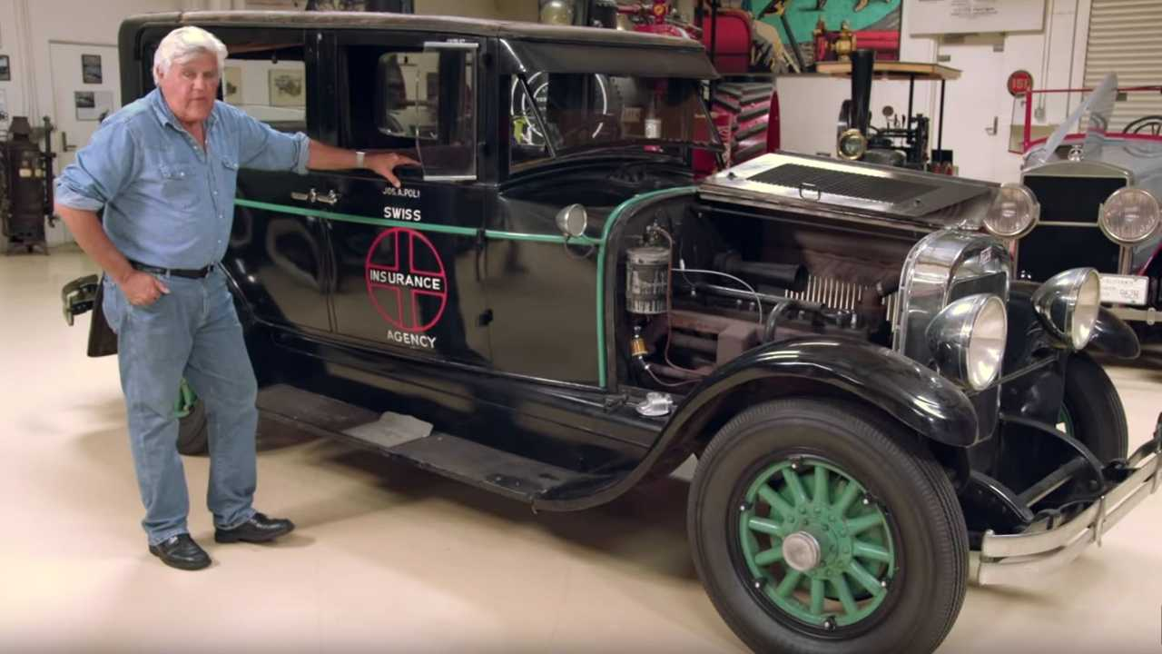 Watch Jay Leno's Garage Updates On Restorations