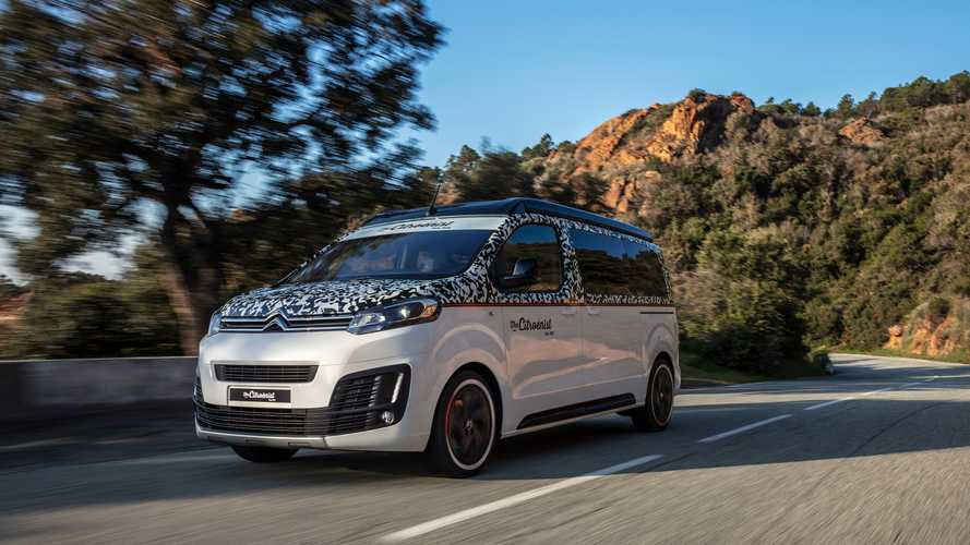 Citroen SpaceTourer concept debuts as eye-catching campervan