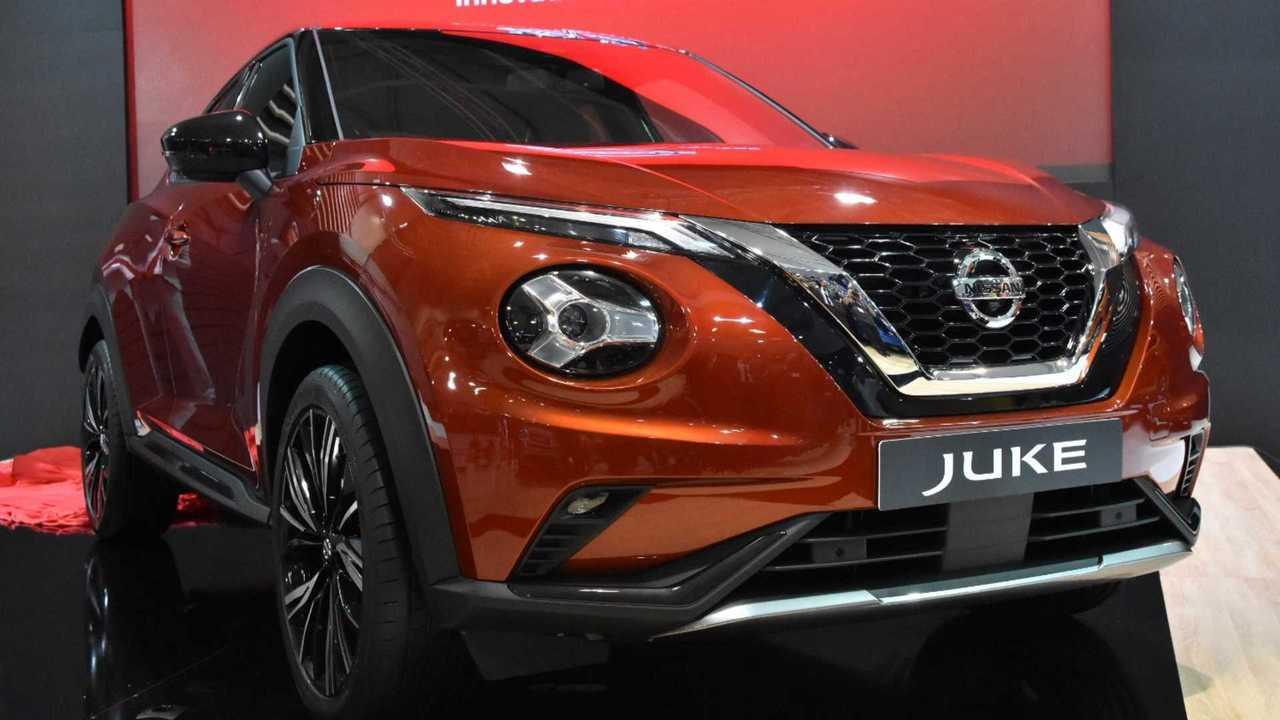 2020 Nissan Juke makes surprise show debut in Bulgaria