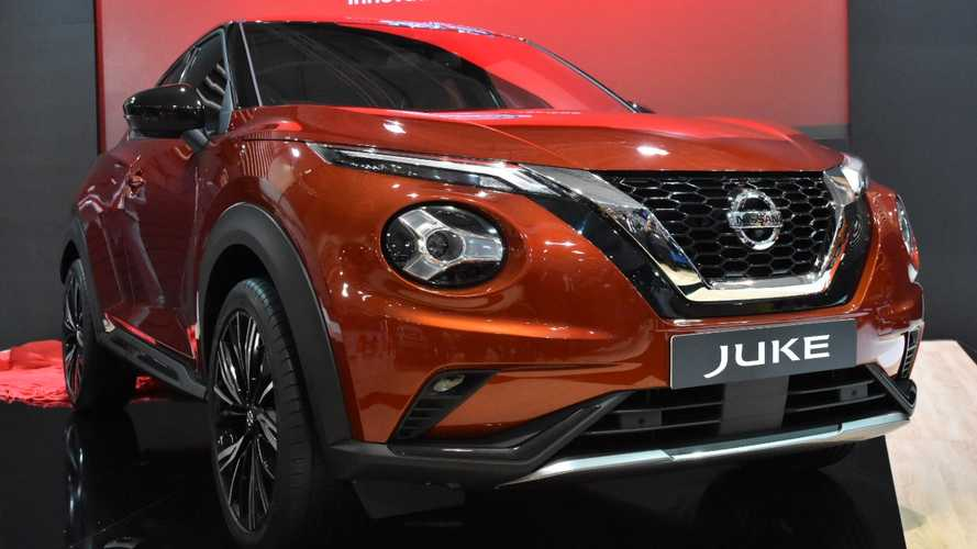 2020 Nissan Juke makes surprise show debut in Bulgaria