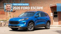 2020 ford escape first drive