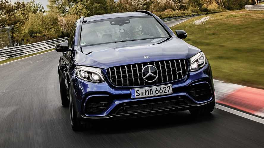 Mercedes-AMG GLC 63 S Sets Fastest SUV Record At The Nurburgring