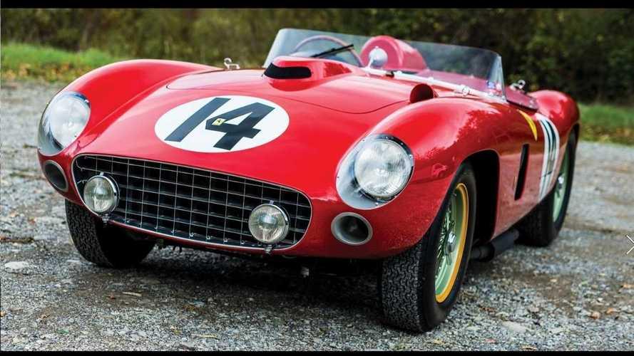 6.2 milliárd forintért kelt el egy Ferrari 290 MM