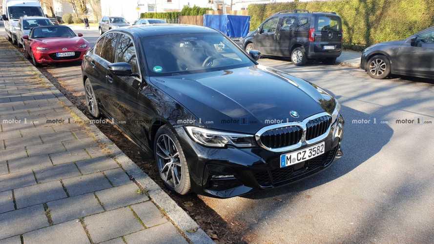 2019 BMW 3 Serisi'nin ilk canlı görüntüleri geldi