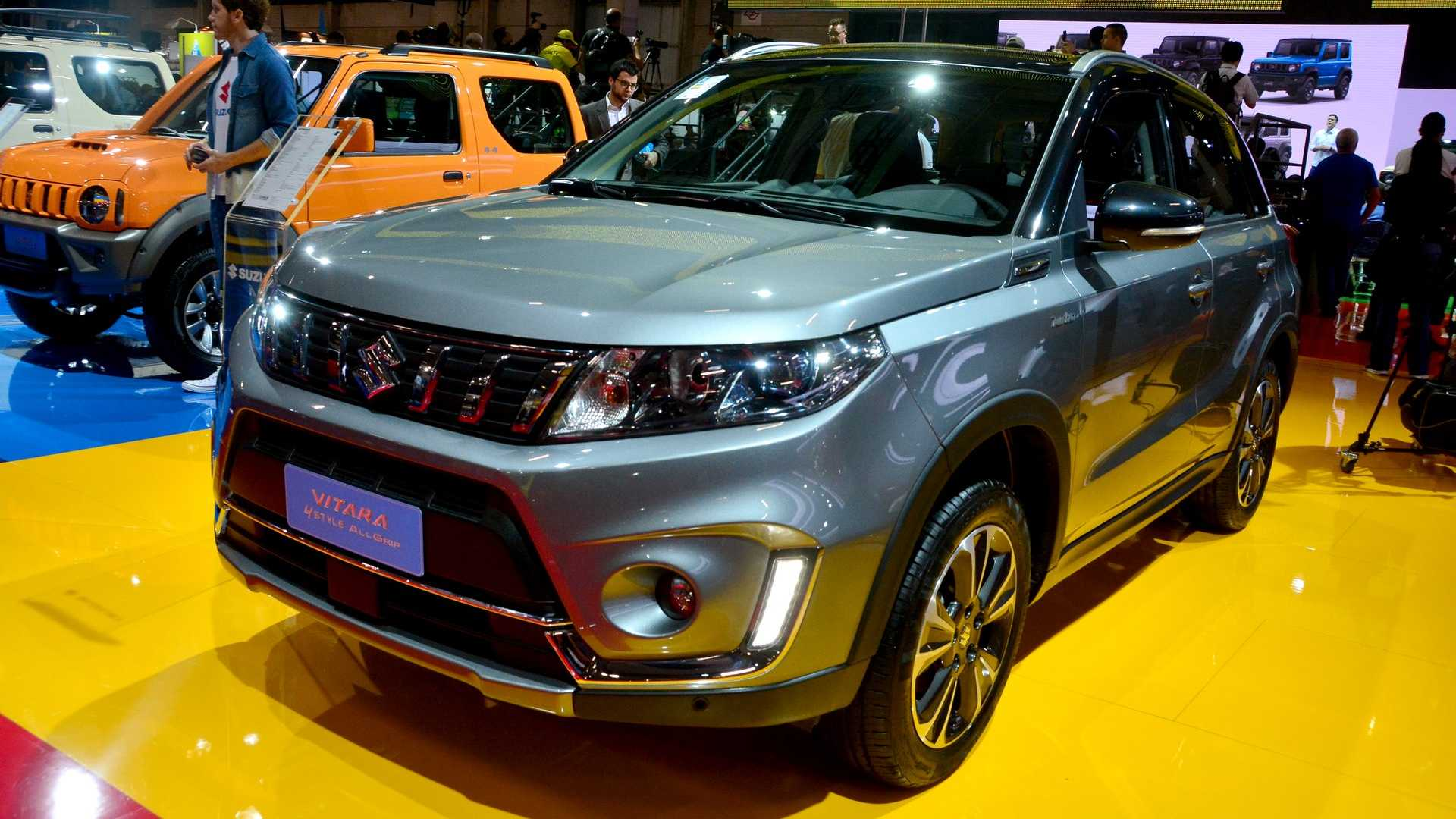 Suzuki Vitara 2019 ganha facelift e parte de R$ 91 990