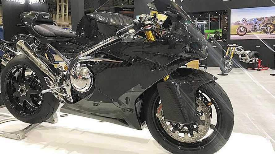 Norton Introduces New Baby V4, The Superlight
