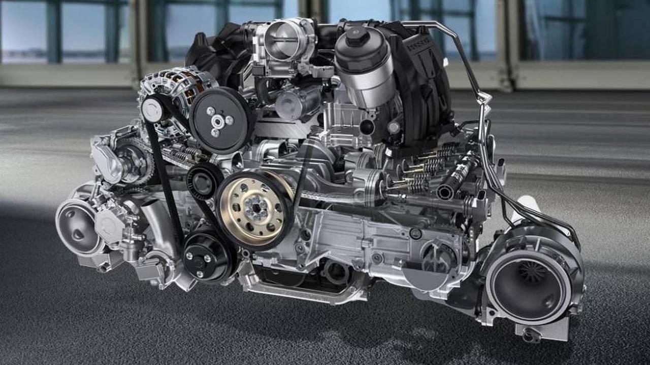 6 Silindir - Porsche'nin 3.8 Litrelik Boxer Motoru