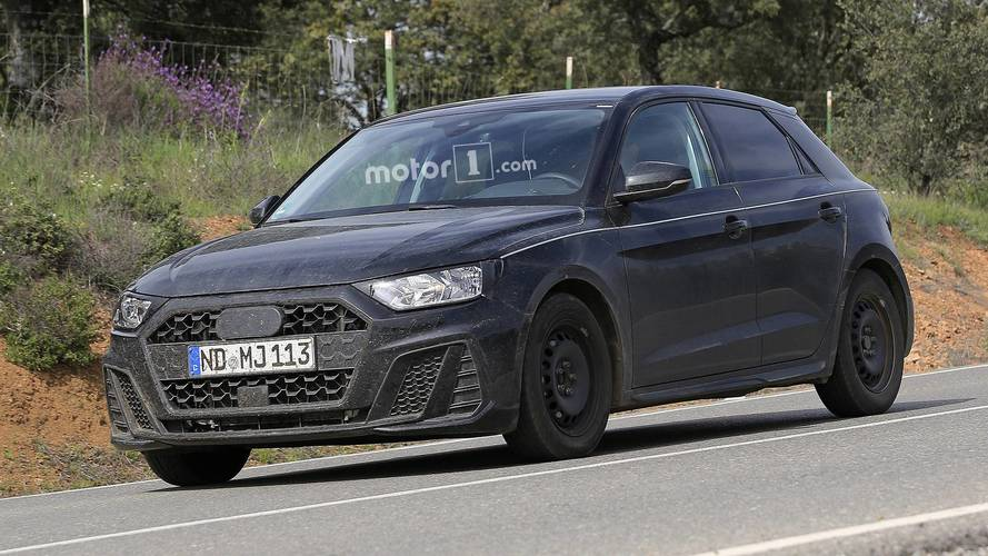 La future Audi A1 à nouveau surprise