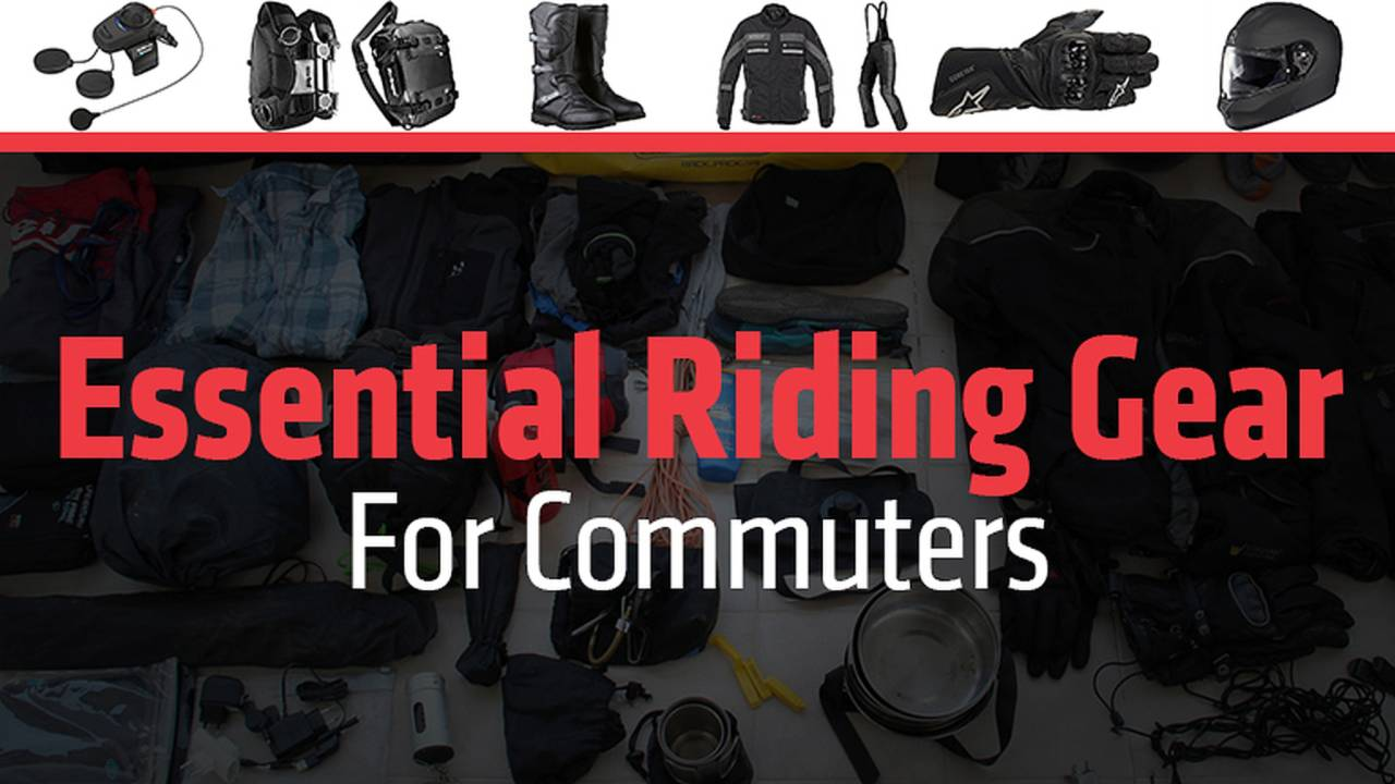 Essential Riding Gear For Commuters