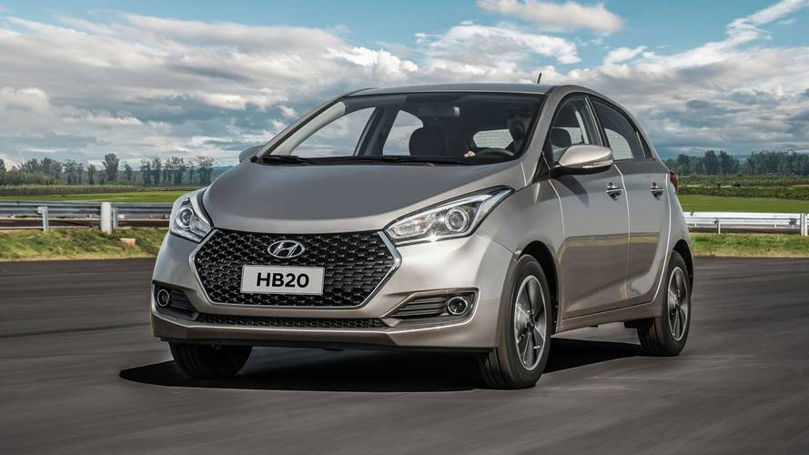 Hyundai HB20 ganha central multimídia de série a partir da versão Comfort Plus