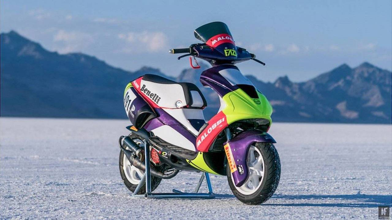 Pirelli Shares Scooter World Speed Records