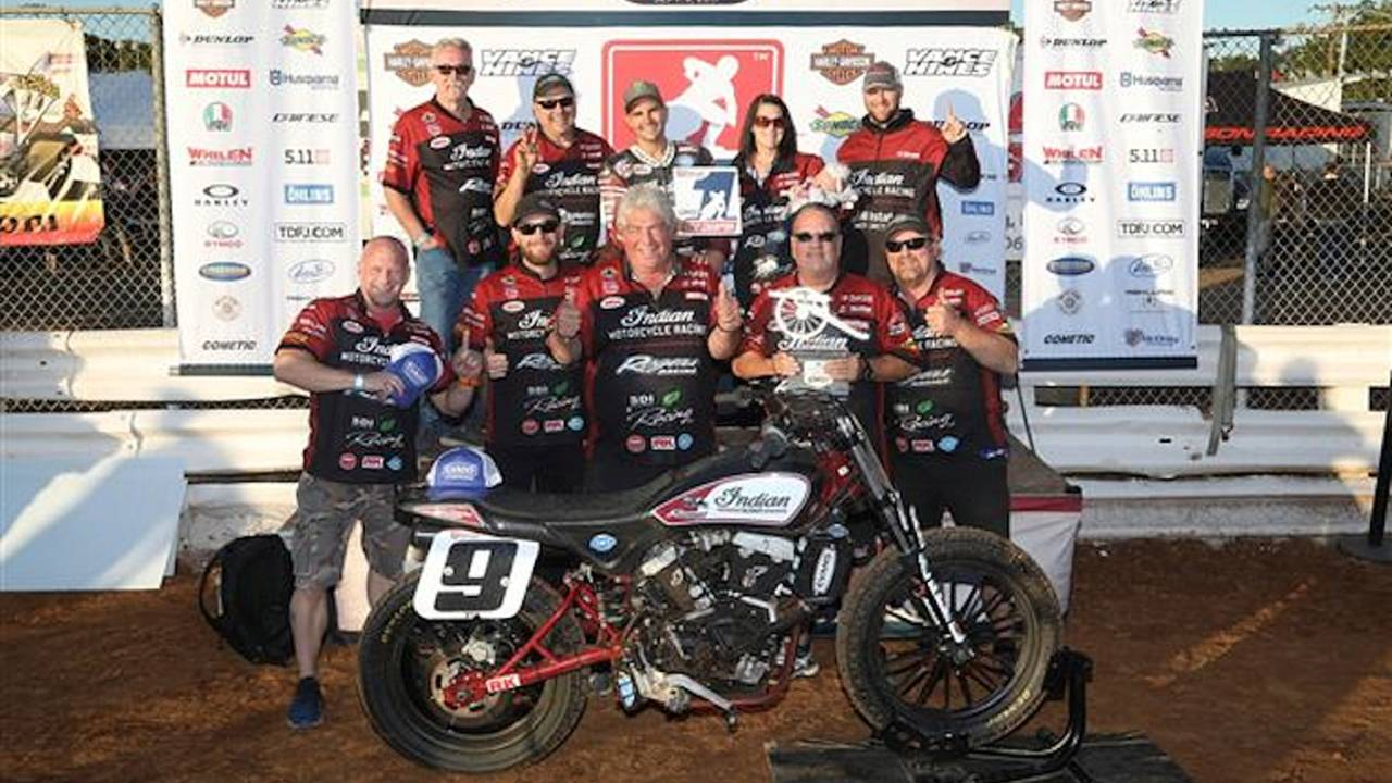 Jared Mees Wins American Flat Track Title
