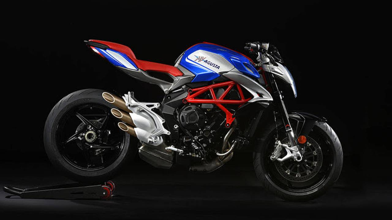 The Latest MV Agusta is Red, White, and Brutale