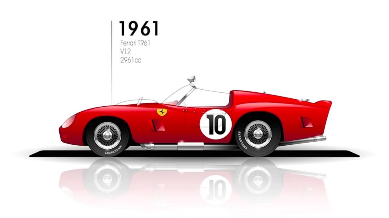1961: Ferrari 250 TRI/61