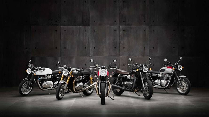 Triumph Announces Pricing for 2016 Street Twin and T120 Bonnevilles