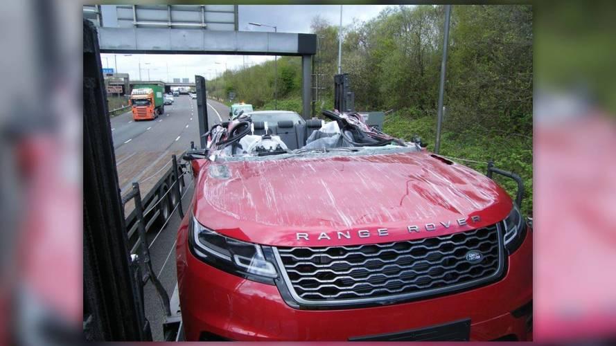 Range Rover Velar crash