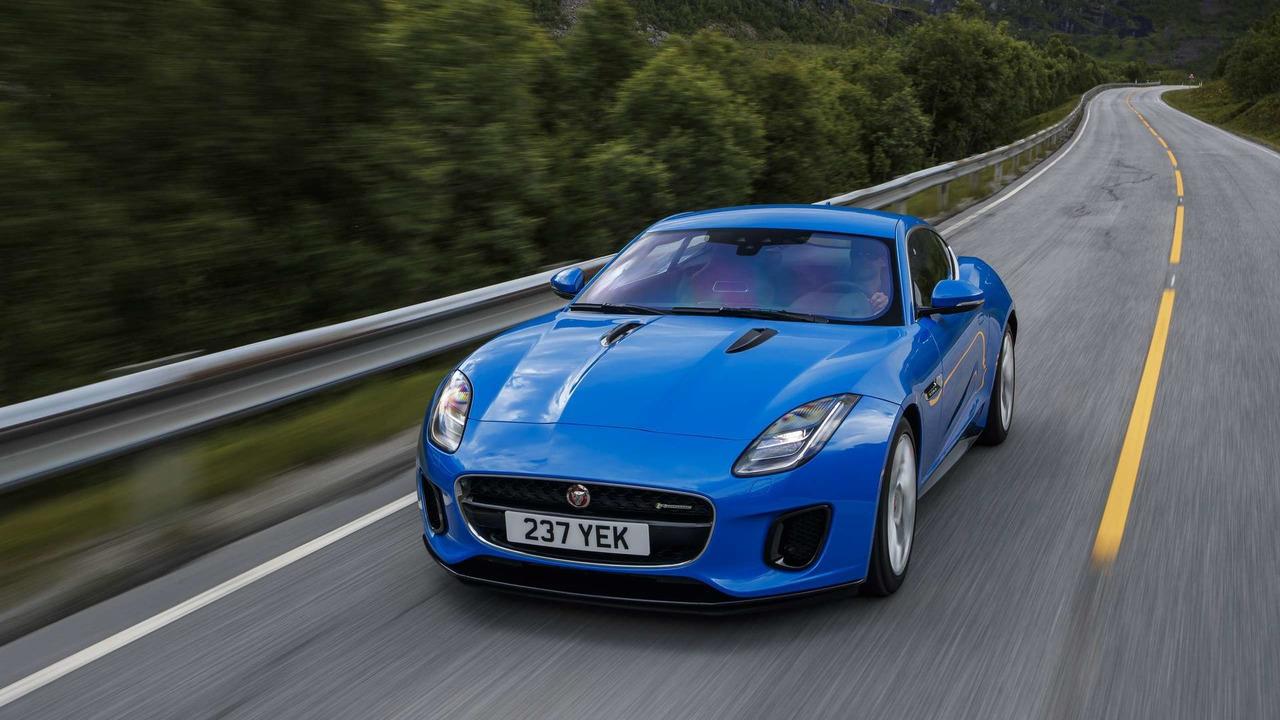 Jaguar F-TYPE Coupé 2018