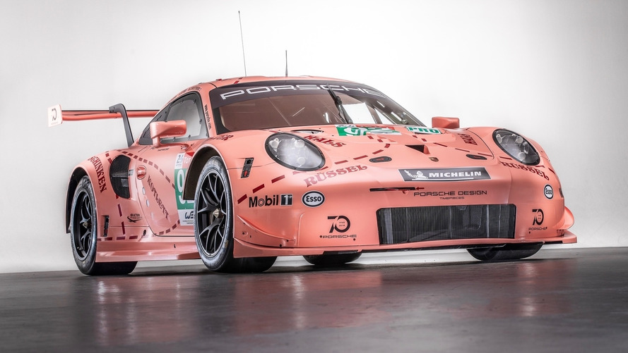 Porsche Revitalizes Classic Liveries For Le Mans 2018