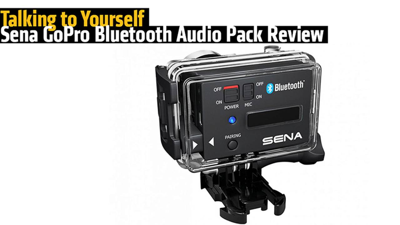 Talking to Yourself - Sena Bluetooth Audio Pack