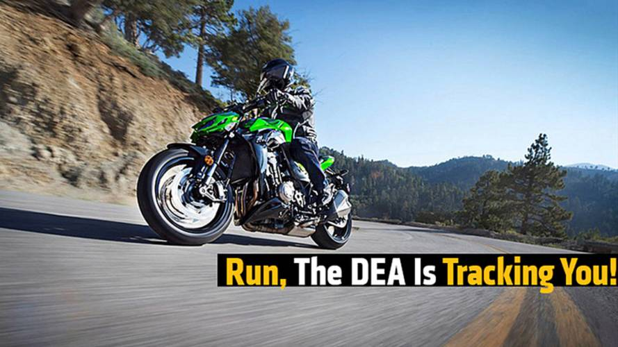 Run, The DEA Is Tracking You!